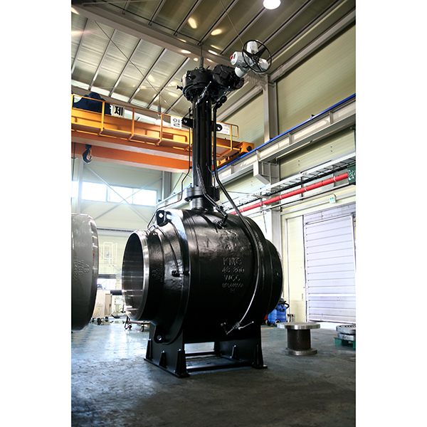 B1AP : API 6D Fully welded Ball valve