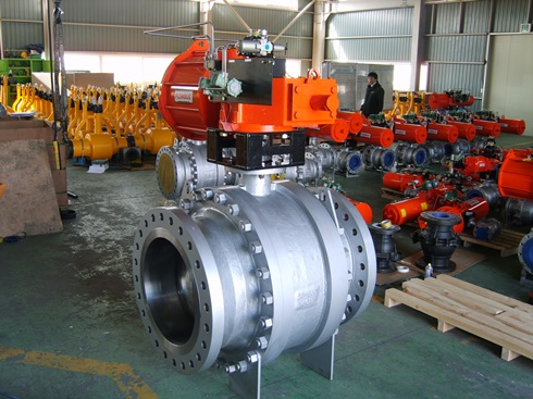 B3TR : 3 Piece Trunnion Ball valve