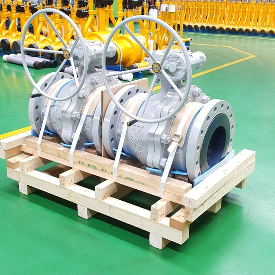 B2TR : 2 Piece Trunnion Ball valve